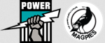 Port Adelaide magpies